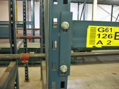 Used Unarco T-Bolt Pallet Rack Beams - by SJF.com