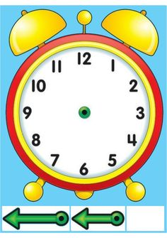 Homeschooling 3 Year Old Kids Printing Model Architecture Info: 6555985288 Creative Activities For Kids, Preschool Learning Activities, Easy Peasy Homeschool, Clock Face Printable, Kids Education, Classroom Organization, Clock Craft, Alarm Clock, Professor