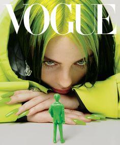 How Billie Eilish Is Reinventing Pop Stardom Billie Eilish's Vogue Cover: How the Singer Is Reinventing Pop Stardom Vogue Covers, Vogue Magazine Covers, Pop Magazine, Vogue Vintage, Billie Eilish, Photo Wall Collage, Picture Wall, Vogue Paris, Édito Vogue