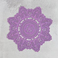 PM584054 Wykrojnik Prima -Crochet Doily -serwetka