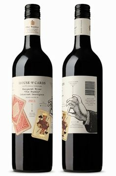 House of Cards Wine on Packaging of the World - Creative Package Design Gallery