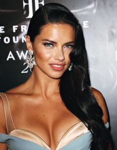 Adriana Lima (Brazilian model) attends the 2016 Fragrance Foundation Awards presented by Hearst Magazines on June 7, 2016 in New York City.