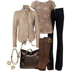 Wallis blouse, Helmut Lang jacket and Rachel Zoe jeans.