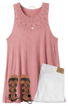 Its Sooooo Hot Here By Ponyboysgirlfriend  E2 9d A4 Liked On Polyvore Featuring Rvca Abercrombie