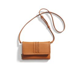 Stitch Fix New Arrivals: Brown Woven Cross-body Bag