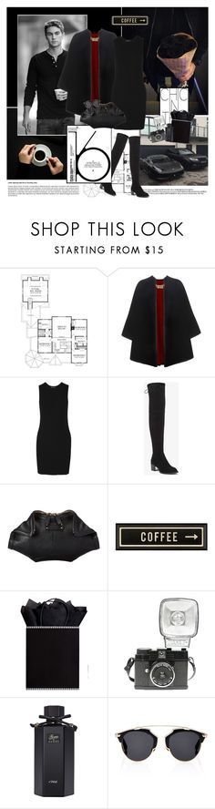 """""""Sin título #225"""" by yuleici ❤ liked on Polyvore featuring GET LOST, Burberry, James Perse, BCBGeneration, Alexander McQueen, Spicher and Company, Lomography, Gucci and Christian Dior"""