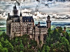 I want to drive The Romantic Road in Germany, from Wurzburg to Fussen, through Bavaria ...  5 Most Beautiful Places To See in Germany