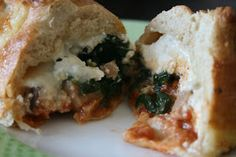 Week of Menus: Meal in a Muffin: a muffin shaped calzone