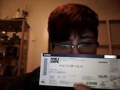 #WTworldtour  Well. I've bought this ticket for the show in Hamburg (now in April o:) on the first day of presale..:D and now I can't wait to go there!