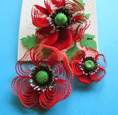 The 211 best flower making tutorials images on pinterest in 2018 quilled flower tutorial mightylinksfo