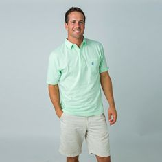 The johnnie-O 4 Button Polo in Stripes.  Truly a classic...where comfort and style meet. Your new favorite shirt the instant you put it on.  100% Combed Cotton Jersey.