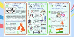 PE & Sports Commonwealth Games Primary Resources - PE and Sports Primary Resources, Primary Teaching, Teaching Resources, Cycling Events, Key Stage 1, Commonwealth Games, Special Day, Fun Facts, Athlete