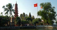 Tran Quoc Pagoda v Hanoji. #hanoj #cestovani #pagoda #travel #vietnam