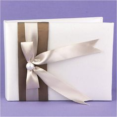WeddingDepot.com ~ Meant to Be Guest Book  $16.95