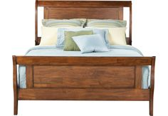 picture of Bedford Pines Brown 3 Pc King Bed  from  Furniture