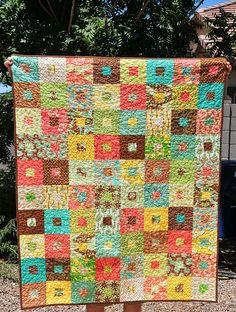 Botany Quilt by Mama Mel Loves, via Flickr