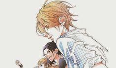 Bisco Hatori's (author or Ouran High school Host Club) newest manga Behind the Scenes!! (Urakata!!)