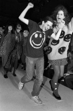 Marc Jacobs, Fall Winter 1985  throwback  fashionweek Vintage Fashion, 80s  Fashion 26a59066c9be