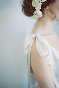 White Ribbons and Roses   Delphine Manivet from Churchgate Porter