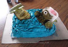 Coolest Bass Fish Birthday Cake... Coolest Birthday Cake Ideas