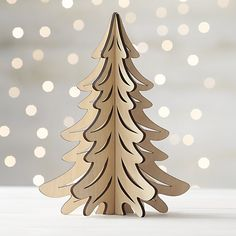Laser Cut Christmas Tree