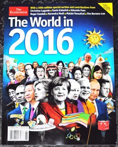 The Economist Magazine The World In 2016