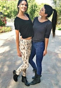 #kendall and #kylie street style