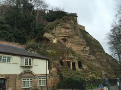 Caves & house