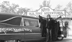 Wolfman Jack's Haunted Hearse at Knott's Berry Farm, 1976