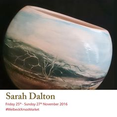 Sarah Dalton creates ceramics that are inspired by Chinese painting. See more of her work at the Christmas Art, Christmas Shopping, Chinese Painting, Art Market, Studios, Ceramics, Inspired, Create, Gallery