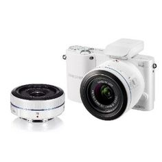 Samsung NX1000 Digital Compact System Camera Twin Kit: Amazon.co.uk: Electronics