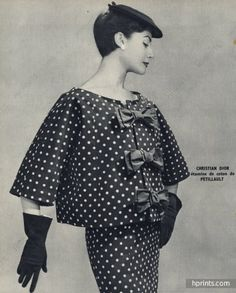 Christian Dior 1954 Fashion Photography, Pétillault