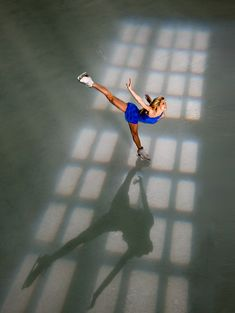 """Becky Bereswill. """"Figure Skating in Window Light"""" by Robert Seale."""