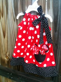 Minnie mouse pillowcase dressvisit my shop and by fridascloset1, $26.00