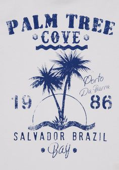 Clothing at Tesco | F&F Palm Tree Cove T-Shirt > tops > Shop All Boys > Kids