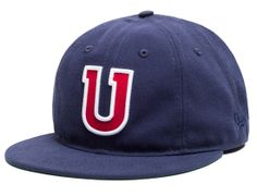 U 8 Panel Fitted Baseball Cap by UNDEFEATED x NEW ERA