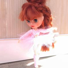 Blythe dress, ballet outfit, custome Pink ballet for Neo Blythe Ballet Clothes, Ballet Costumes, Pretty In Pink, Tutu, Harajuku, Cool Outfits, Barbie, Handmade, Etsy