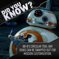 "79.6k Likes, 264 Comments - Star Wars (@starwars) on Instagram: ""He's adaptable. #StarWars #TheForceAwakens #BB8"""