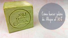 Cómo hacer jabón de Alepo al 30%
