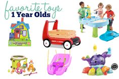 Toys for 1 Year Olds | from Emily at Imperfectblog.com