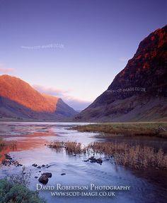 Loch Achtriochtan, GlenCoe, Scotland by David Robertson