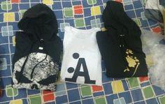 Moletom ou camiseta, você escolhe!