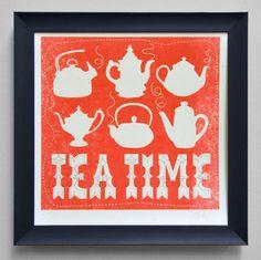 Love Tea, Love this print. Good Local Dudes.