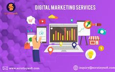Increase Online Sales, drive highly targeted traffic to your website through Scrutinysoft Digital Marketing Services. Digital Marketing Services, Online Marketing, Social Media Marketing, Competitor Analysis, Online Sales, Website, Business, Inspiration, Biblical Inspiration