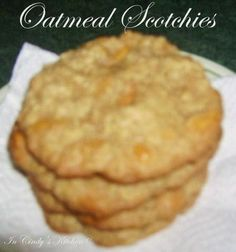 In Cindy's Kitchen: Oatmeal Scotchies
