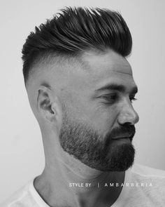 """870 Likes, 13 Comments - MEN'S HAIRSTYLES & BEARDS (@ambarberia) on Instagram: """"BACK TrendHairstyle2016 Another more!! FRESH CUT. Model: @alanmainster Tags your friends+!…"""""""