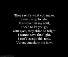 Demons by Imagine Dragons  perfect lyrics right now..