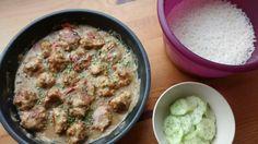 """Thai-""""maiset"""" kanapullat kookos-currykastikkeessa"""