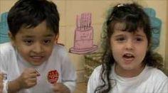 Young children learning Mandarin