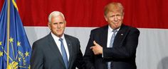 IT'S OFFICIAL -- Donald Trump tweets Indiana Gov. Mike Pence is his vice presidential running mate! They will compliment each other WELL!!!!